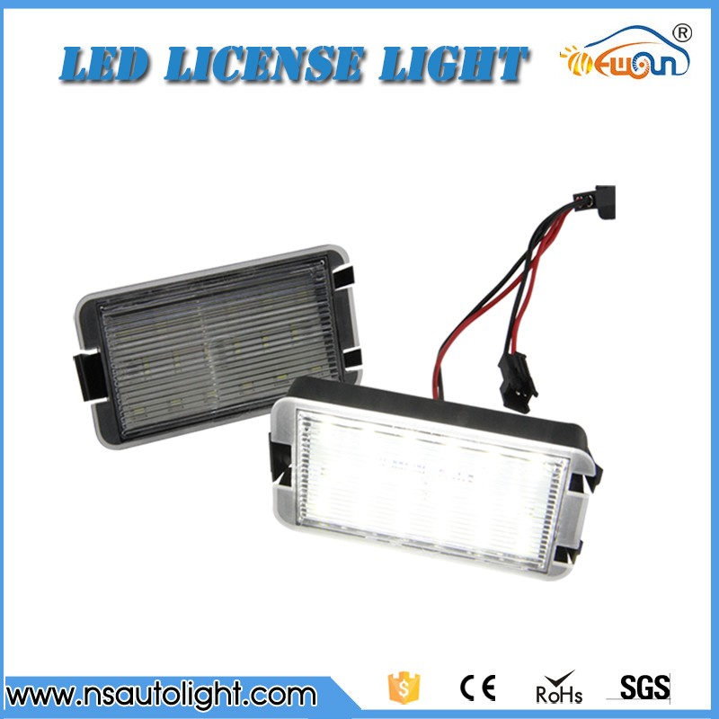 LED Number License Plate Light Rear Lamp for SEAT Car license light kit VW Seat Altea Arosa Ibiza Cordoba Leon Tole