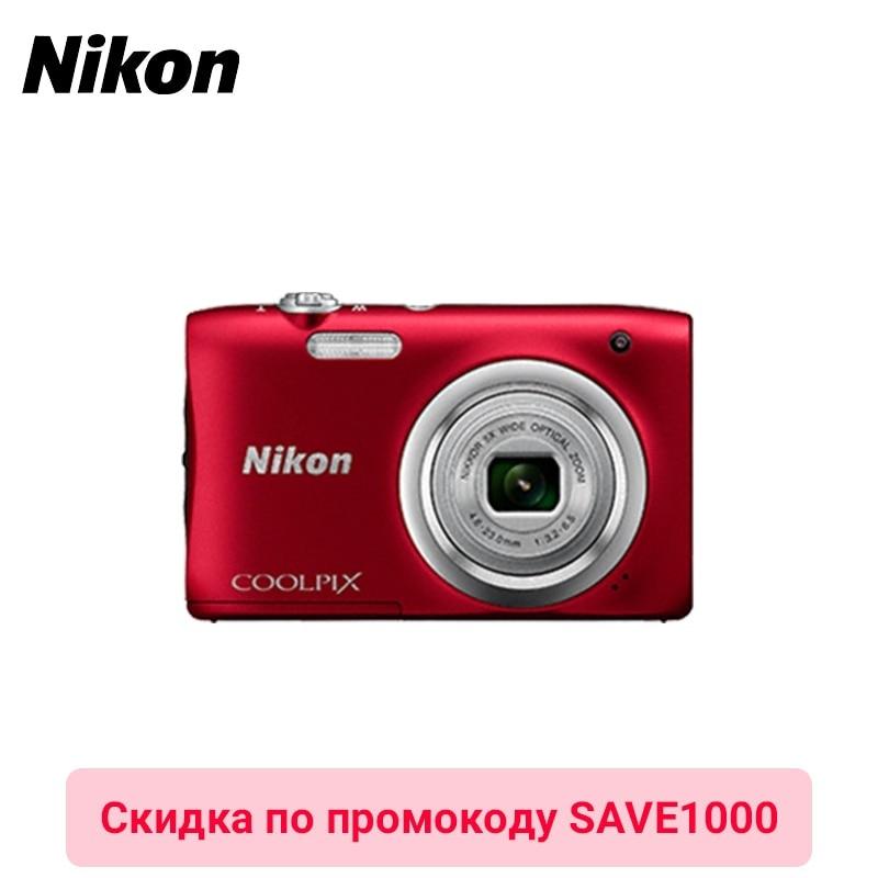 Digital Camera Nikon CoolPix A100 photocamera 58mm digital camera lens cover
