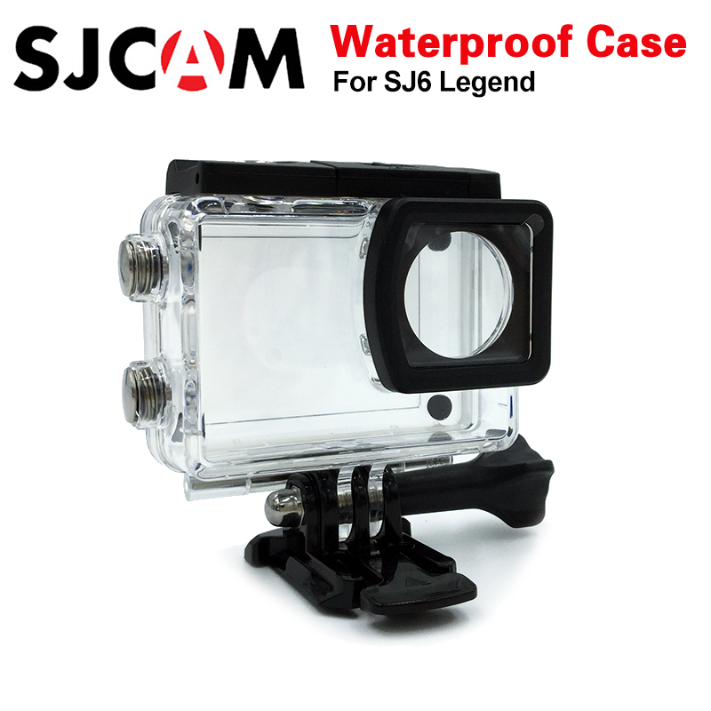 SJCAM SJ6 Legend Accessories sj6 Underwater Housing sj6 cam Waterproof Case 30M Diving For SJCAM SJ6 Legend Sports Action Camera купить в Москве 2019