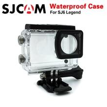 SJCAM SJ6 אגדה אביזרי sj6 מתחת למים דיור sj6 מצלמת עמיד למים מקרה 30 m צלילה עבור SJCAM SJ6 אגדה ספורט פעולה מצלמה
