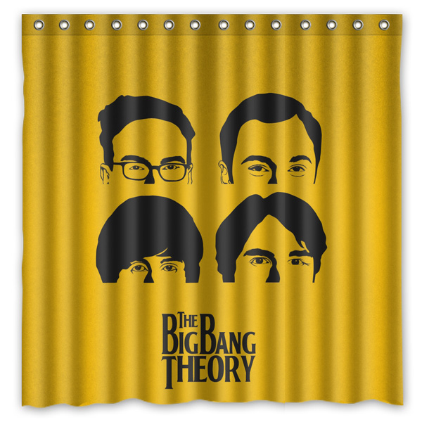 The Big Bang Theory Waterproof&mildew Proof Thicken
