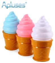Novelty Led Night Light Ice Cream Lamp Kids Bed Sleeping Table Lamp For Children