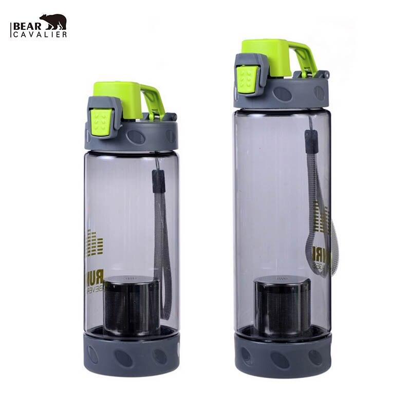 Hot translucent lemon fruit botella deporte botella de agua con inoxidable 304 b