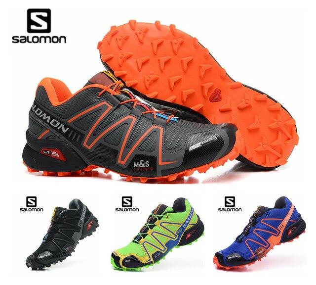 ae1f60b59e55 Salomon Speed Cross 3 CS III Outdoor Male Sports Shoes mens running shoes  eur 40-