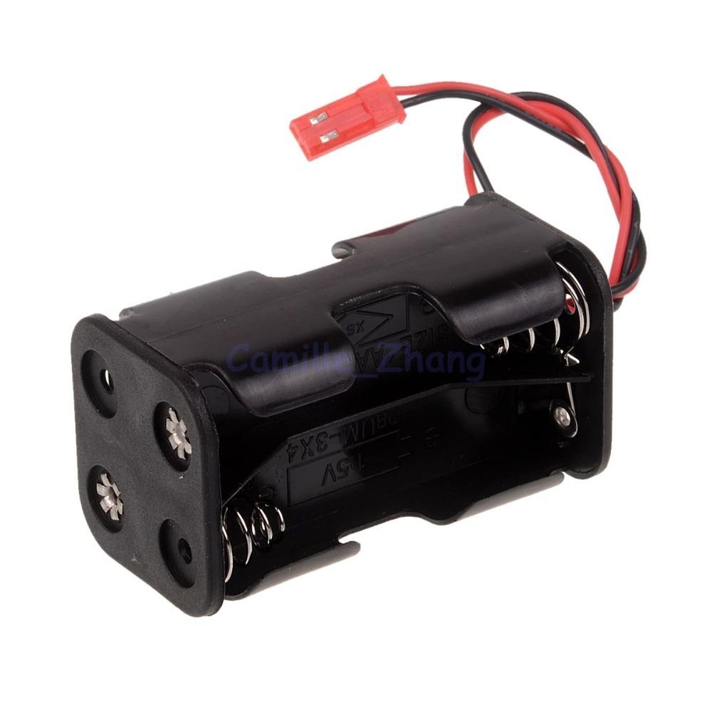 HSP 02070 Ontvanger Batterijvak Case Houder Doos JR Plug 4 x AA - Radiografisch bestuurbaar speelgoed