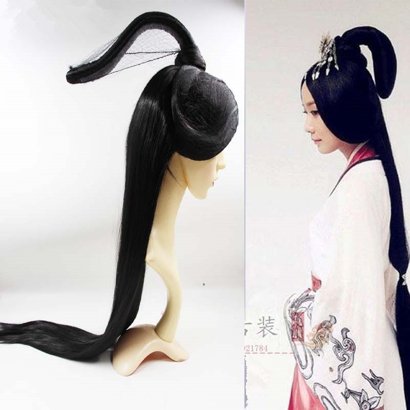 shaped ancient fairy hair cosplay chinese ancient dynasty hair cosplay women masquerade party princess hair product