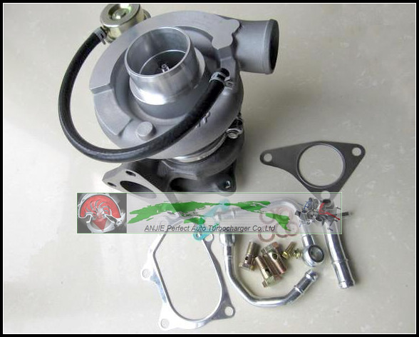 Turbo For SUBARU IMPREZA WRX STI EJ20 EJ25 2.0L MAX Power 450HP TD05-20G TD05-20G-8 TD05 20G Turbocharger + gaskets Pipe Fitting  hosingtech for subaru impreza wrx grb ej25 07 ver 10 silicone turbo kit
