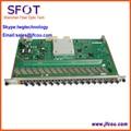 Original Huaway 16 Portas Placa GPFD para MA5680T/MA5683T/MA5603T/MA5608T OLT GPON, com 16 módulos SFP