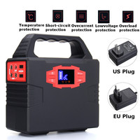 150Wh 100W Portable Solar Generator Power Supply Energy Storage Home Outdoor Power Generation WIth Adapter Cigarette Lighter