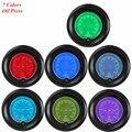 """Apoyo EE 2 """"52mm Azul Rojo del Color 7 Prensa De Aceite Gauge Car Auto Medidor de Presión Digital LED Reloj Tint Len XY01"""