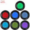 2 52mm Blue Red 7 Color Oil Press Gauge Car Auto Pressure Meter Digital LED Tint