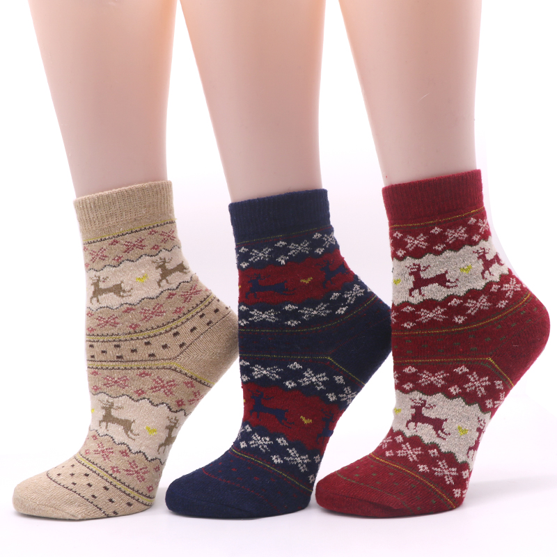 6Pair Men Socks Classic Business Brand Calcetines Hombre Socks Men High Quality Animals Socks For Male Compression Sock Warm