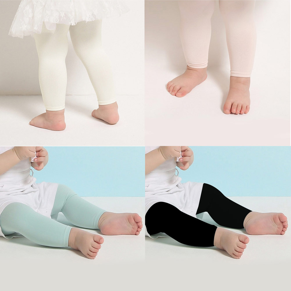 Newborn Summer Baby Girls Leggings Baby Breathable Pants Thin Clothes 1-5 Yesars Kids