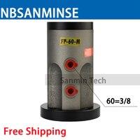 Бесплатная доставка пневматический поршень Вибраторы FP 60 м амплитуда пневматический вибратор FP серии M Sanmin