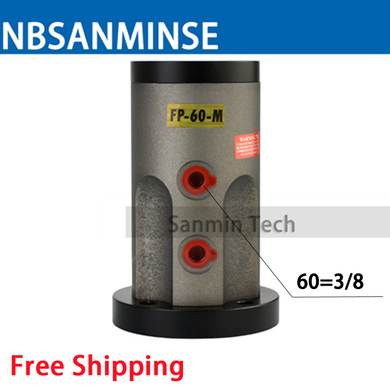 Free Shipping Pneumatic Piston Vibrators FP 60 M Amplitude Adjustable Air Operated Vibrator FP - M Series Sanmin стоимость