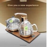Darmowa wysyłka kamjove inteligentne szkło czajnik elektryczny ogrzewanie elektryczne piec gotować herbata zdrowie inteligentne kryształ herbaty kuchenka elektryczna