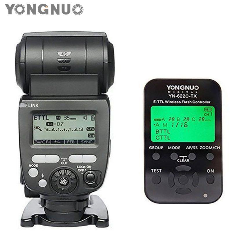 YONGNUO YN685 YN-685 Wireless HSS TTL Speedlite Flash Build in Receiver Worked with YN-622C-TX Wireless Controller for Canon sinix 685