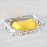 11.11 Good Quality Stainless Soap Holder Dish Basket Tray Bathroom Shower Cup