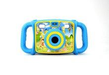 KaRue новый двойной объектив цифровой детей Камера мягкий клей Анти падения Камера Раннее Образование Детские для best подарок