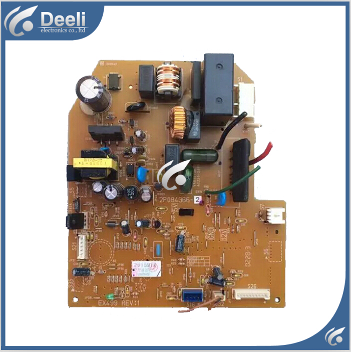 95% new good working for air conditioning board 2P084366-2 PCB board
