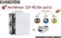 De Oude 90% Nieuwe Mijnwerkers Asic Mijnwerker Antminer Z9 42 K Sol/S 1150W Met APW3 + + Psu equihash Mijnbouw Machine