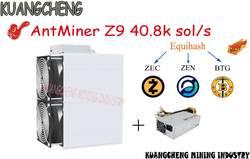 Старый 90% новый шахтеры ASIC шахтер AntMiner Z9 40,8 k sol/s 1150 W с APW3 + + PSU Equihash горные машины