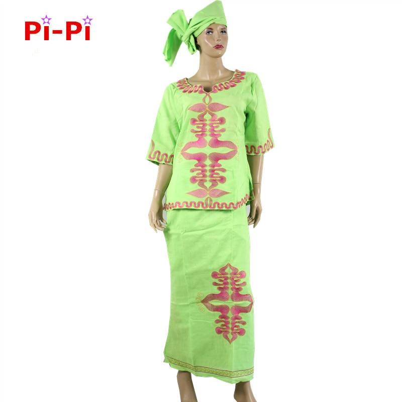 H & D الملابس الأفريقية الجديدة Dashiki الأفريقية التطريز المرأة اللباس مع الكتان الطبيعي النسيج والتطريز إنتاج الحرف