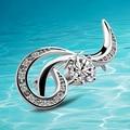 Moda prata broches, 925 prata broches para lady , moda jóias , styleSolid caráter Individual design ,