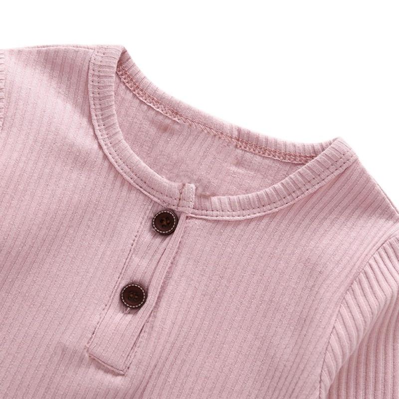 Unisex Long Sleeve Cotton Romper