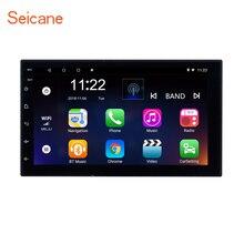 Seicane Универсальный 2 Din Android 7,1 автомобильный навигатор стерео для Honda Kia Nissan Suzuki Toyota VW четырехъядерный Bluetooth радио wifi