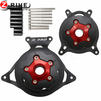 Motorcycle Engine Stator Cover Engine Guard Protection Side Shield Protector For Kawasaki Z750 2008 2008 2009
