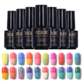 ROSALIND Temprature LED UV Soak-off Gel Lacquer Varnish UV Nail Gel Polish 7ML UV GEL For Nail Art