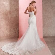 Vestido de novia RSW1465, pez, sirena, transparente, 2018