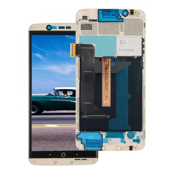 """5.5"""" For ZTE Axon 7 A2017 A2017U A2017G Lcd Display Digitizer Touch Panel Screen Assembly with Frame"""