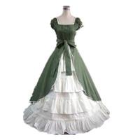 [La MaxPa] Medieval dress gothic lolita sweet women dress plus size custom made robe victorienne