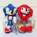 Kawaii Super Sonico Plush Doll 20cm Stuffed Cartoon Ultimate Flash Sonic Hedgehog for Baby Kids Toy Gift