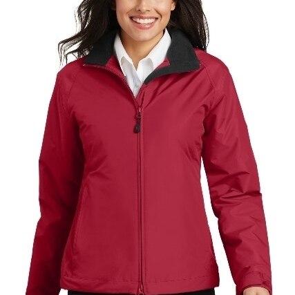 Port Authority L354 Ladies Challenger Jacket True Red & True Black - 3XL
