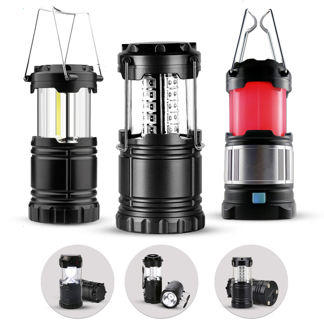 CHIZAO Camping Light Outdoor Emergency Lamp Multi Function Portable Working Flashlight Tent Light Lantern For Fishing Hiking