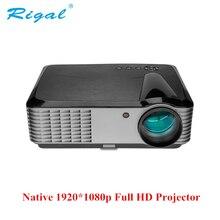 Full HD проектор rd-819 1080P 4000 люмен 4k Поддержка видео светодиодный ЖК домашний кинотеатр HDMI android беспроводной проектор