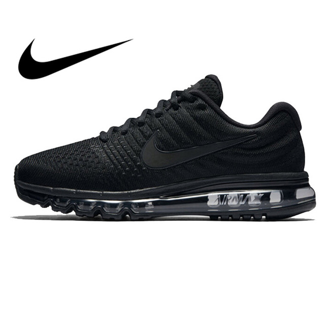 efdb1bcde0 Original Authentic NIKE AIR MAX Men's Running Shoes Sneakers low top  Breathable Whole Palm Cushioning Outdoor Sports 849559