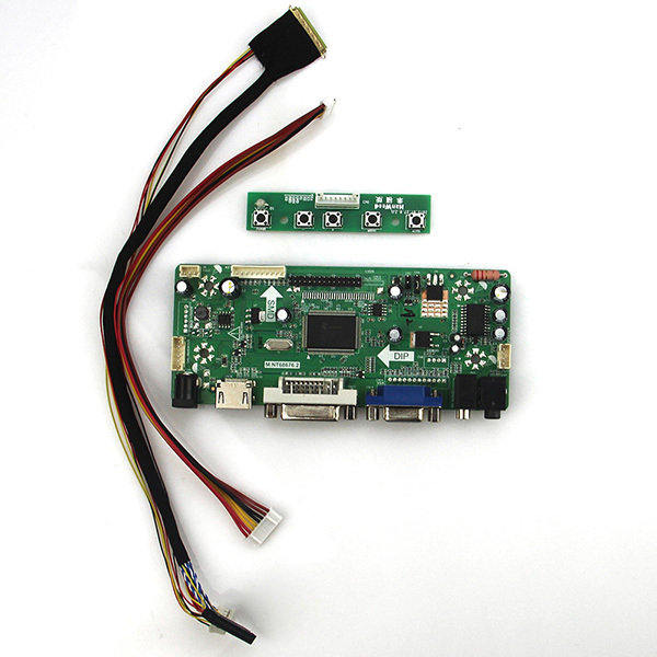 М. NT68676 ЖК/LED Драйвер Контроллера Совета (HDMI + VGA + DVI + Аудио) ForHSD100IFW1-A00 1024*600 LVDS Монитор Повторное Ноутбук