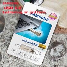 SAMSUNG USB Flash Drive USB Three.zero 64GB pen drive Customized emblem drive Tiny Pendrives flash usb Reminiscence Stick for birthday present 64gb