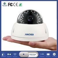 Escam chất lượng cao qd420 4mp hd độ nét cao ir chống thấm ngoài trời camera với night phiên bản h.265 ip camera