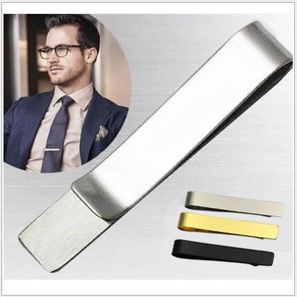 Beadsnice Skinny Tie Bar Stainless Steel Personalized Tie Clip Blank Wedding Collection Groomsmen Gift  Tie Clips 33777