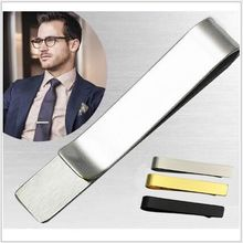 Beadsnice Skinny Tie Bar Stainless Steel Personalized Clip Blank Wedding Collection Groomsmen Gift New Design ID 33777