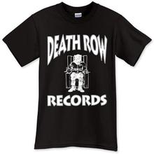 2019 New Men'S T Shirt New Death Row Records Black T-Shirt TShirt Tee Shirt Size S M L XL 2XL 3XL harajuku  O-Neck  Cotton все цены
