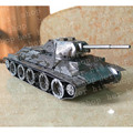 2017 militar t34 tanque 3d puzzle clássico diy metallic nano enigma modelo crianças educacionais puzzles brinquedos do menino para crianças & adultos