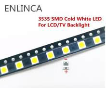 Bom preço kit 100-200 peças leds para wooree 3535 6v 2 w-led smd tv backlight
