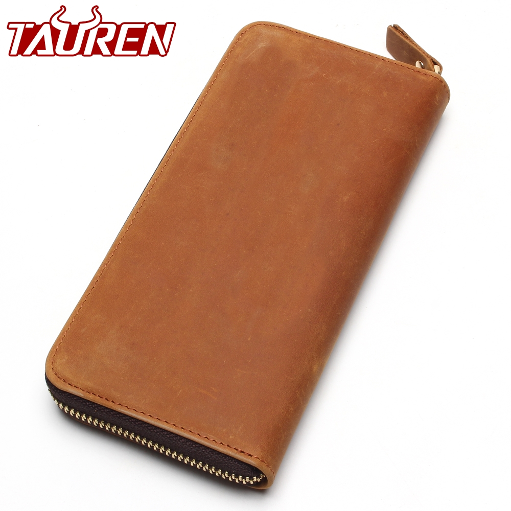 2018 Top Quality New Men Wallets Vintage Cow Crazy Horse Luxury Leather Men Manual Male Purse,Carteira Masculina 2018 top quality new men wallets vintage cow crazy horse luxury leather men manual male purse carteira masculina