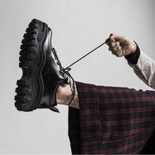 FIDANEI New Black Patent Leather Women Sneakers Platform Shoes Woman Creepers Female Casual Flats Tenis Feminino Espadrilles